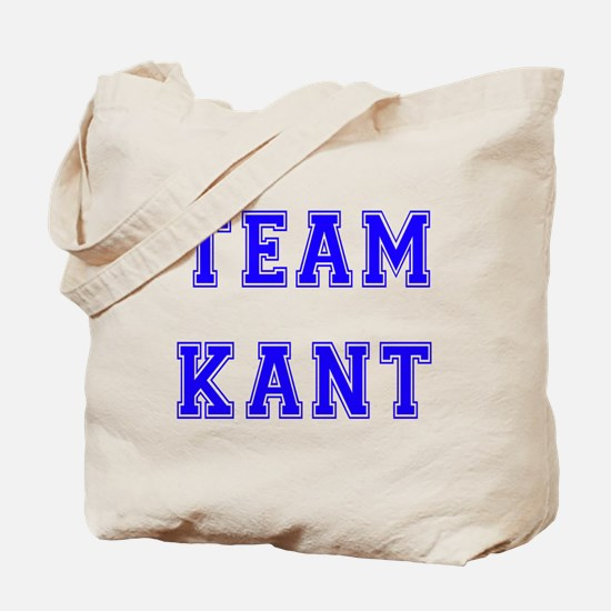 Team Kant Tote Bag