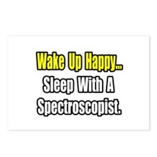 """Sleep With Spectroscopist"" Postcards (Package of"
