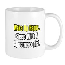 """Sleep With Spectroscopist"" Mug"