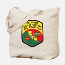 CDF Forestry Fire Tote Bag