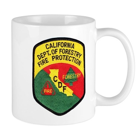 CDF Forestry Fire Mug