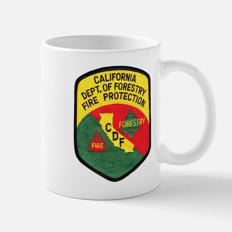CDF Forestry Fire Mug