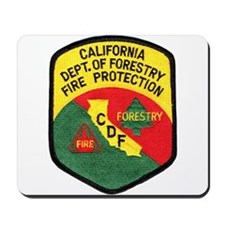CDF Forestry Fire Mousepad