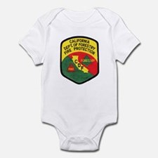CDF Forestry Fire Infant Bodysuit