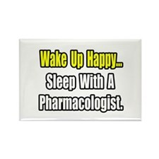 """Sleep With Pharmacologist"" Rectangle Magnet"
