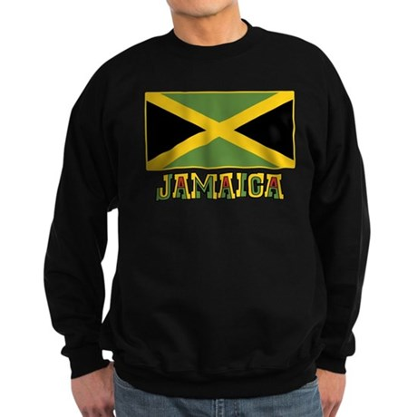 Jamaican Flag Sweatshirt (dark)