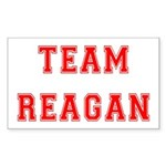 Team Reagan Rectangle Sticker