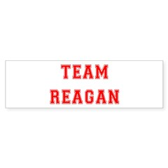 Team Reagan Bumper Bumper Sticker