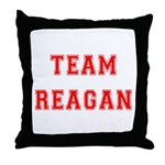 Team Reagan Throw Pillow