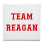 Team Reagan Tile Coaster
