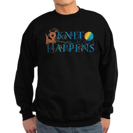 Knit Happens Sweatshirt (dark)