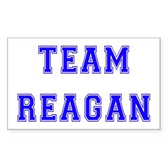Team Reagan Rectangle Decal