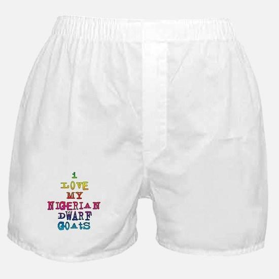 Nigerian Dwarf Boxer Shorts