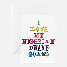 Nigerian Dwarf Greeting Card