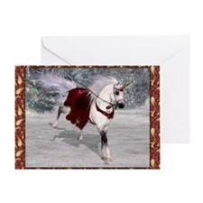 Holiday Unicorn IV Greeting Card