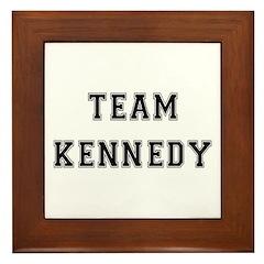 Team Kennedy Framed Tile