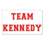 Team Kennedy Rectangle Sticker