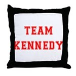 Team Kennedy Throw Pillow