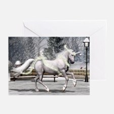 Holiday Unicorn II Greeting Cards (Pk of 10)