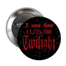 "Twilight I was there blk. 2.25"" Button (10 pack)"