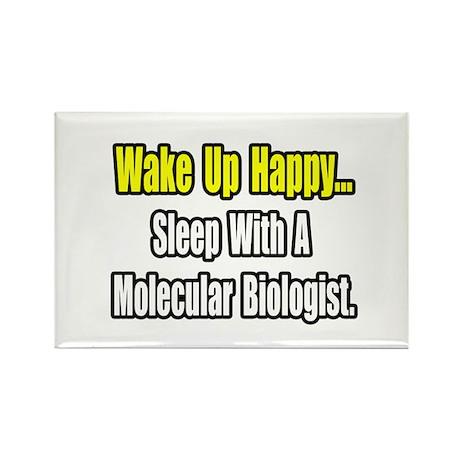 """Sleep w Molecular Biologist"" Rectangle Magnet (10"