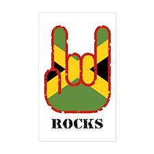 Jamaica Rocks Rectangle Decal