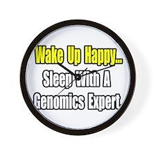 """Sleep w/ Genomics Expert"" Wall Clock"