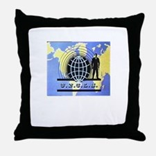 THE MAN FROM UNCLE Throw Pillow