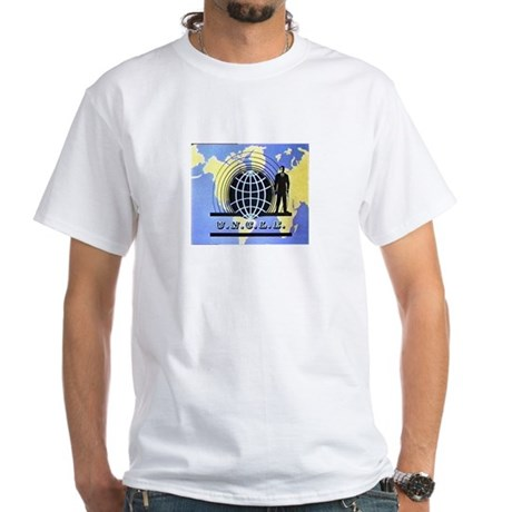 THE MAN FROM UNCLE White T-Shirt