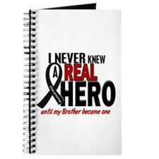 Never Knew A Hero 2 MELANOMA (Brother) Journal