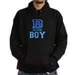 B is for Boy Hoodie (dark)