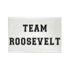 Team Roosevelt Rectangle Magnet