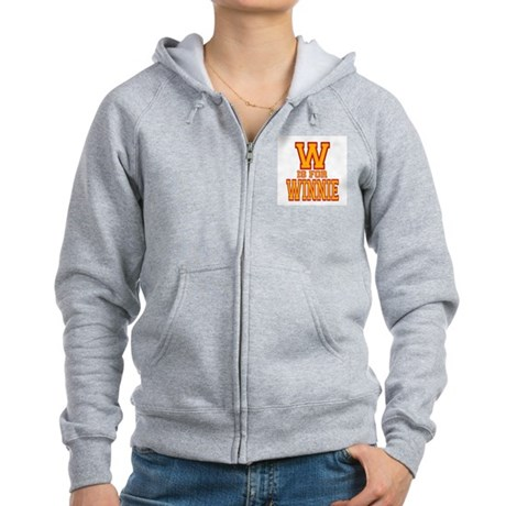 W is for Winnie Women's Zip Hoodie