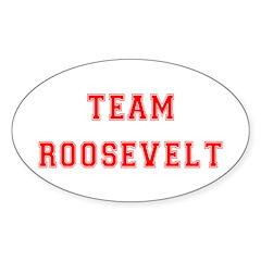 Team Roosevelt Oval Decal