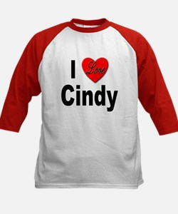 I Love Cindy (Front) Tee