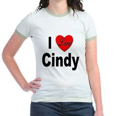 I Love Cindy (Front) T