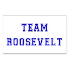 Team Roosevelt Rectangle Decal
