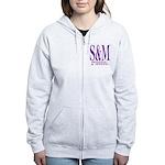 S&M Women's Zip Hoodie