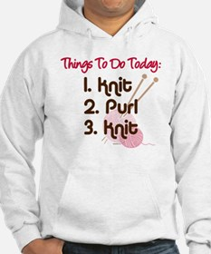 Knitter's To Do List Hoodie