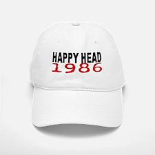 HAPPY HEAD 1986 Baseball Baseball Cap