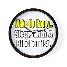 """..Sleep w/ a Biochemist"" Wall Clock"