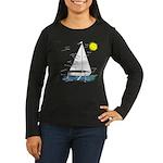 The Well Rigged Women's Long Sleeve Dark T-Shirt