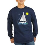 The Well Rigged Long Sleeve Dark T-Shirt