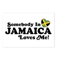 Somebody In Jamaica Loves Me Postcards (Package of