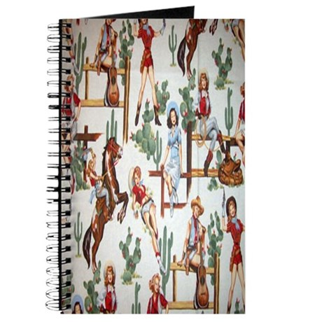 Cowgirl Pin Up Journal