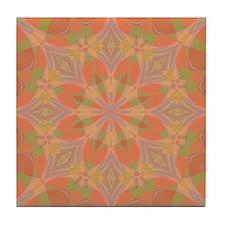 Peach Delight Tile Coaster