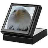 Eagle keepsake boxes Square Keepsake Boxes
