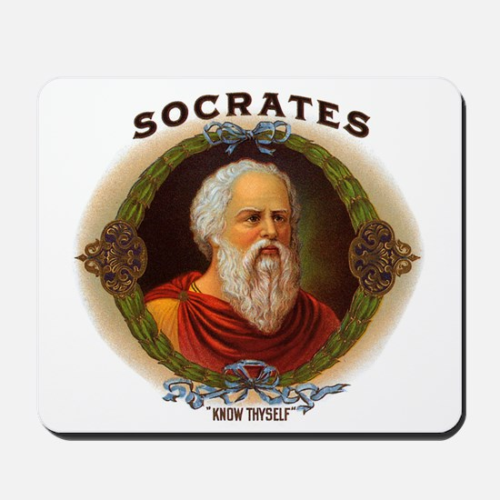 Socrates Philosopher Mousepad