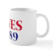 Vote YES on Prop 89 Mug