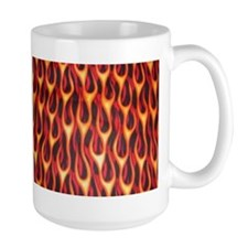 Hot Rod Flames Mug